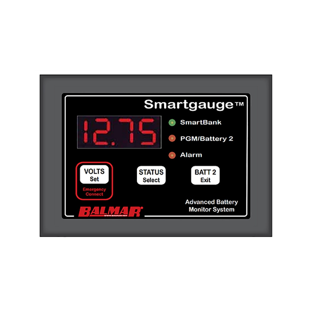 Balmar Smartgauge Battery Monitor - 12/24V - 44-SG-12/24