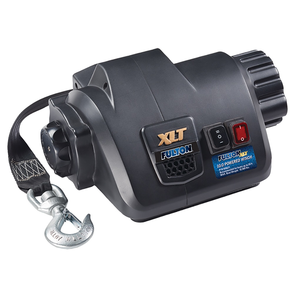 Fulton XLT 10.0 Powered Marine Winch w/Remote f/Boats up to 26' - 500621