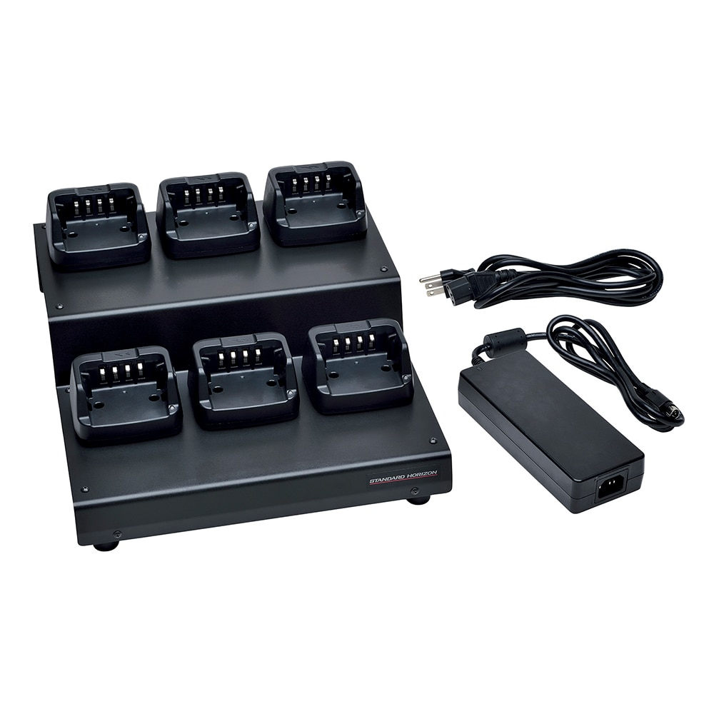 Standard Horizon 6-Unit Multi Charger - SAD-1460