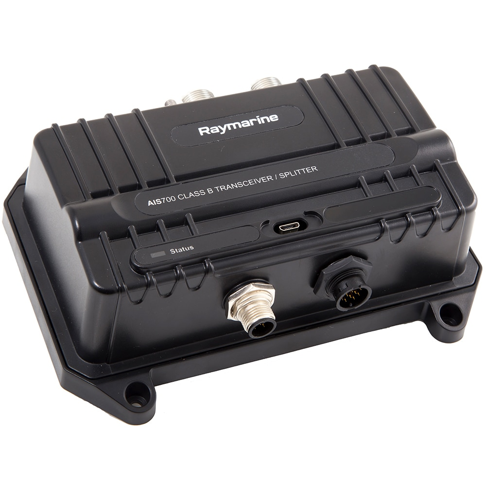 Raymarine AIS700 Class B AIS Transceiver with Antenna Splitter  (Includes programming) - E70476