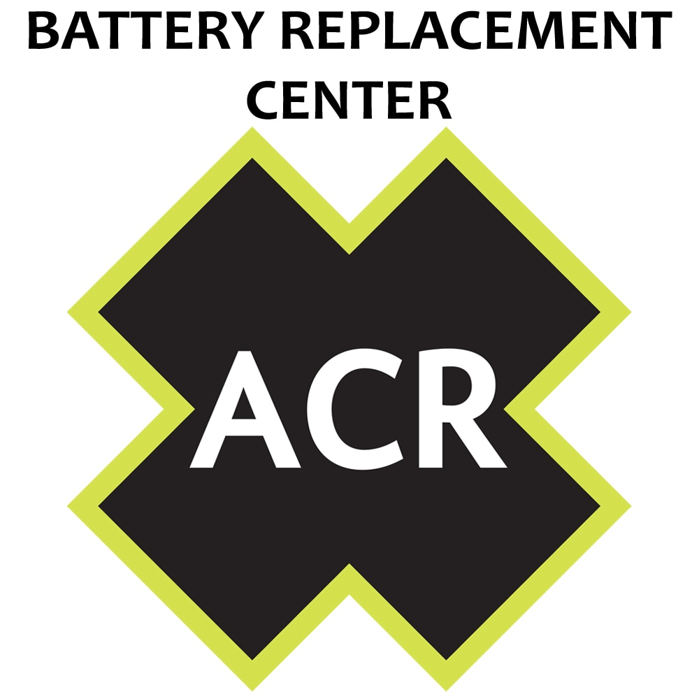 ACR FBRS 2883 Battery Replacement Service - PLB-350 B SARLink - 2883.91