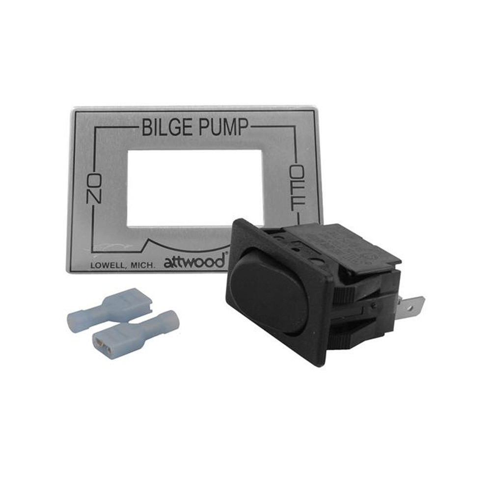 Attwood 2-Way On/Off Bilge Pump Switch - 7615-3