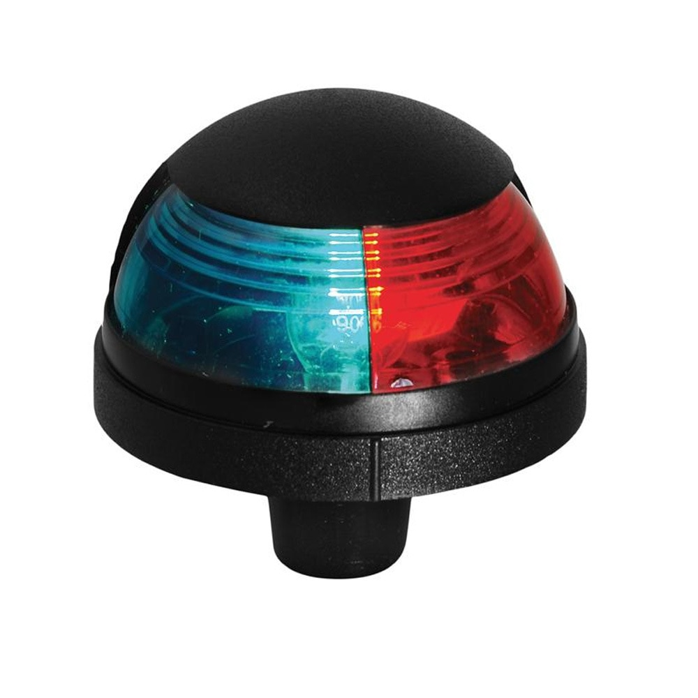 Attwood Pulsar™ 1-Mile Deck Mount, Bi-Color Red/Green Combo - 12V - Black Housing - 5045-7