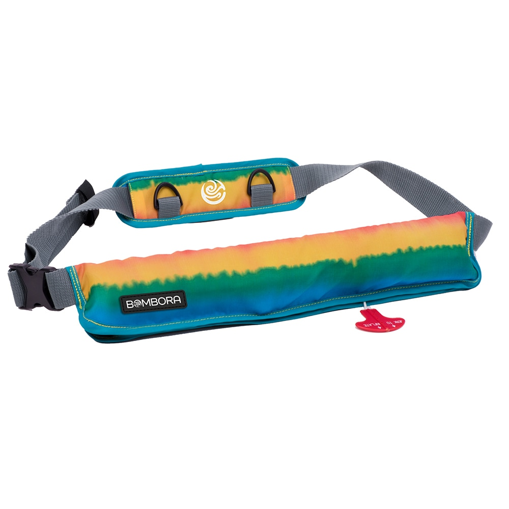 Bombora Inflatable Belt Pack Fade Out Collection - Rasta - B0101
