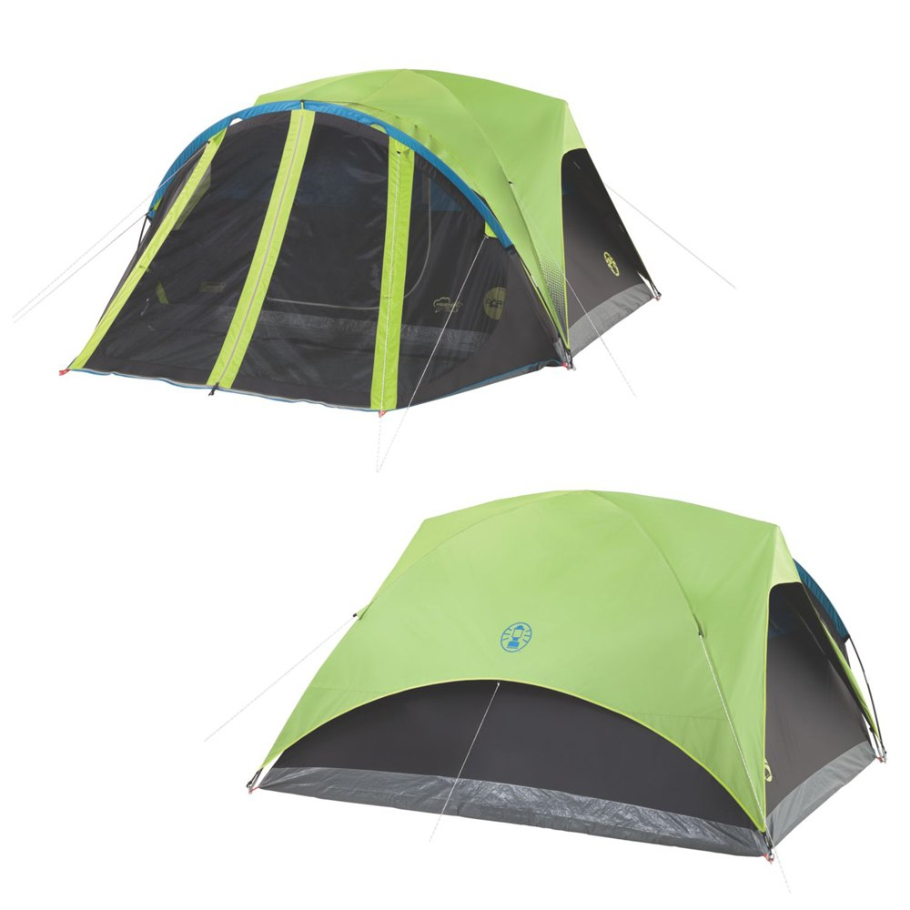 Coleman Carlsbad 4-Person Darkroom Tent with Screen Room - 2000033189