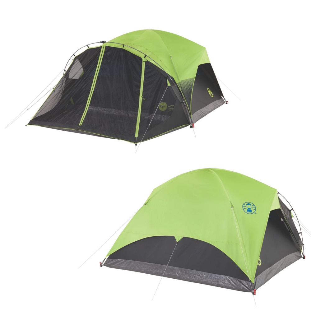 Coleman Carlsbad 6-Person Darkroom Tent with Screen Room - 2000033190