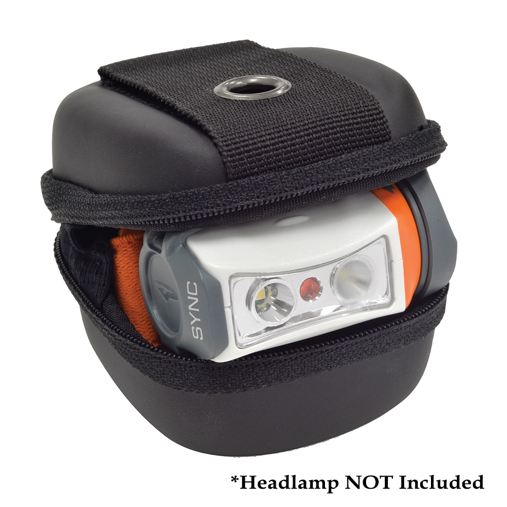 Princeton Tec Stash Headlamp Case - Black - HL-1