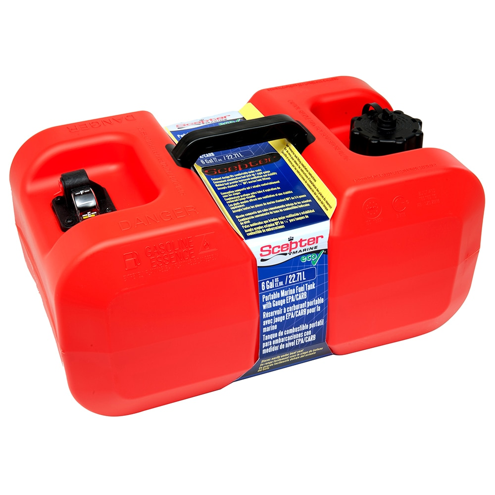 Scepter Under Seat Portable Fuel Tank - 6 Gallon - 10511