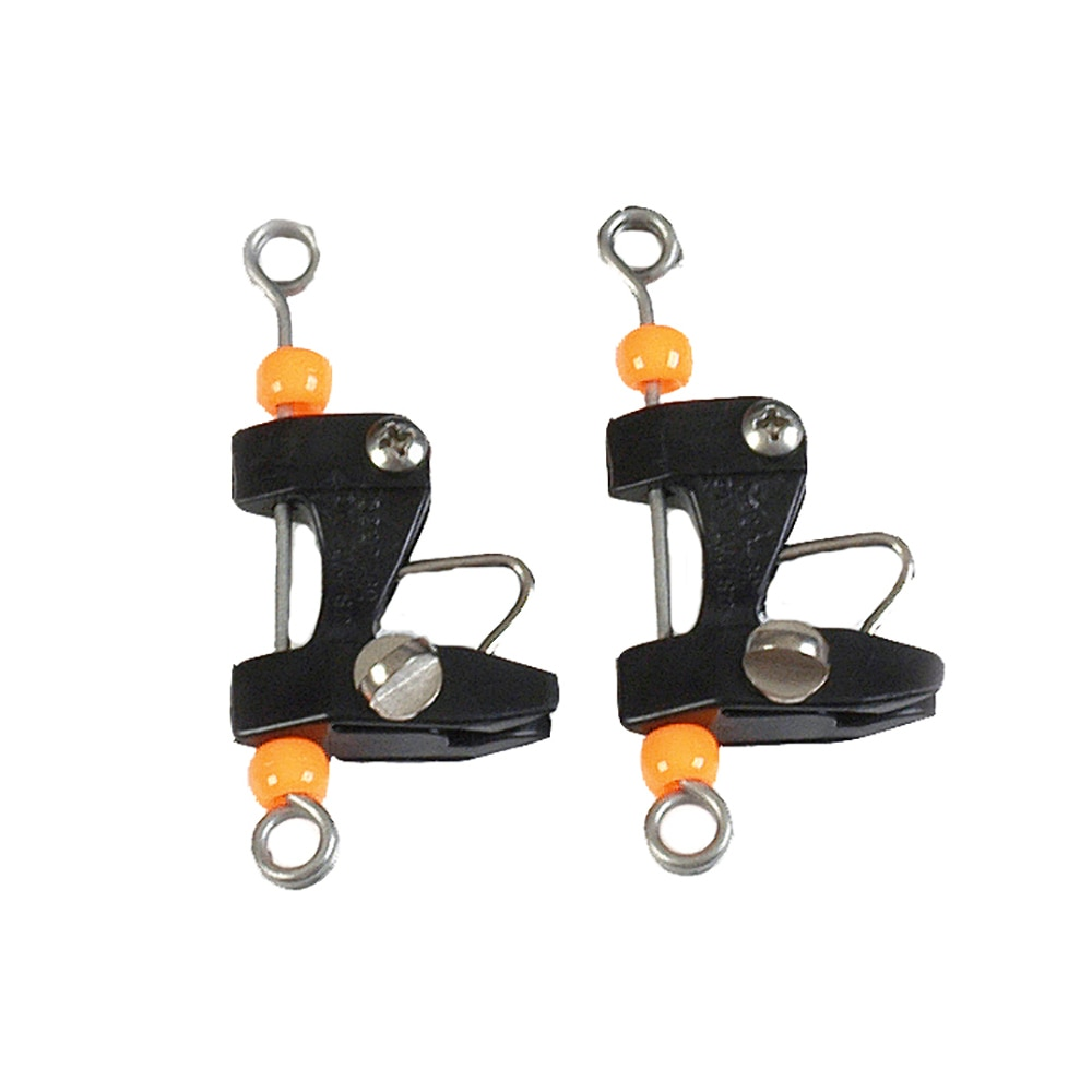 Lee's Tackle Release Clips - Pair - RK2202BK