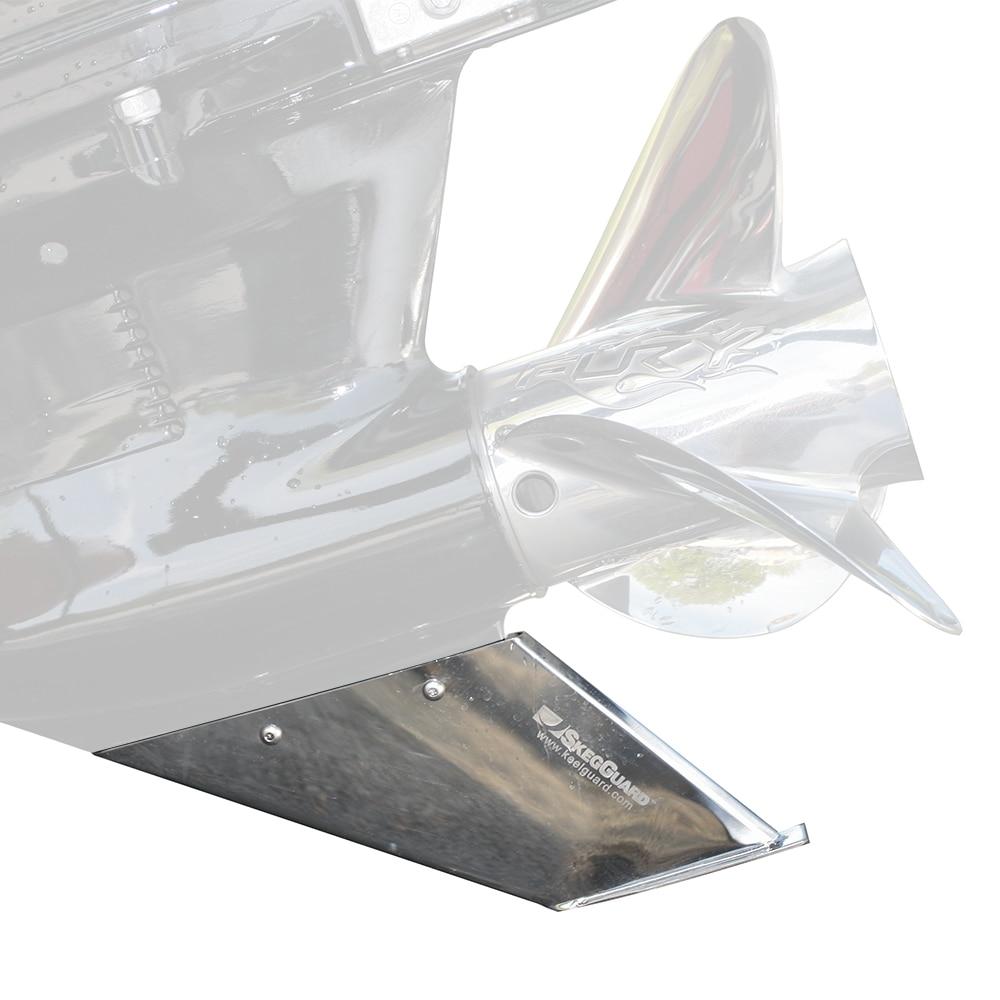 Megaware SkegGuard - Stainless Steel - Evinrude, Johnson, Suzuki OMC Cobra  - 27081 | Anchor Express