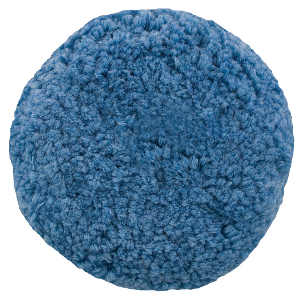 Presta Rotary Blended Wool Buffing Pad - Blue Soft Polish - 890144