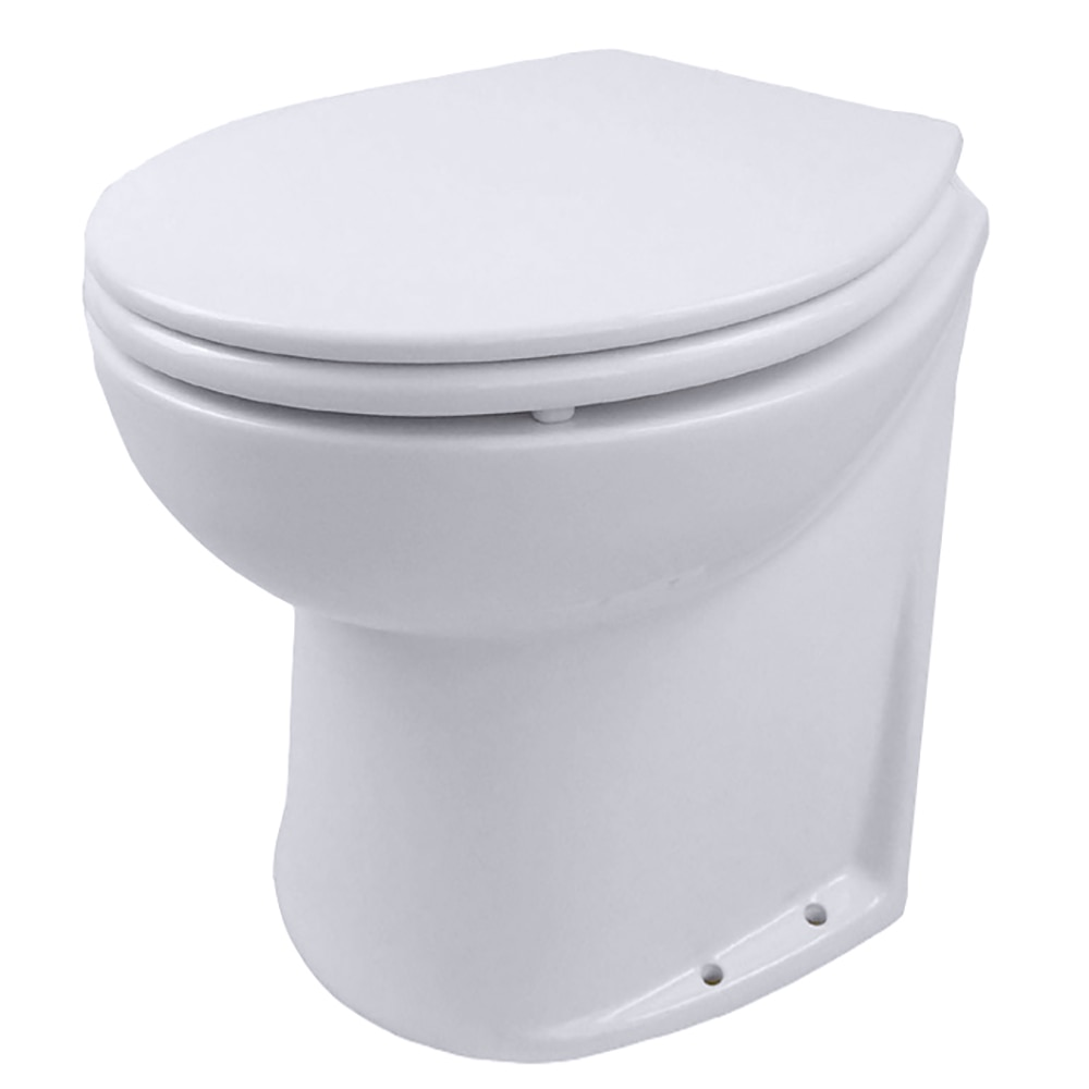 Jabsco Deluxe Flush 14 Quot Slant Back 24v Electric Toilet W