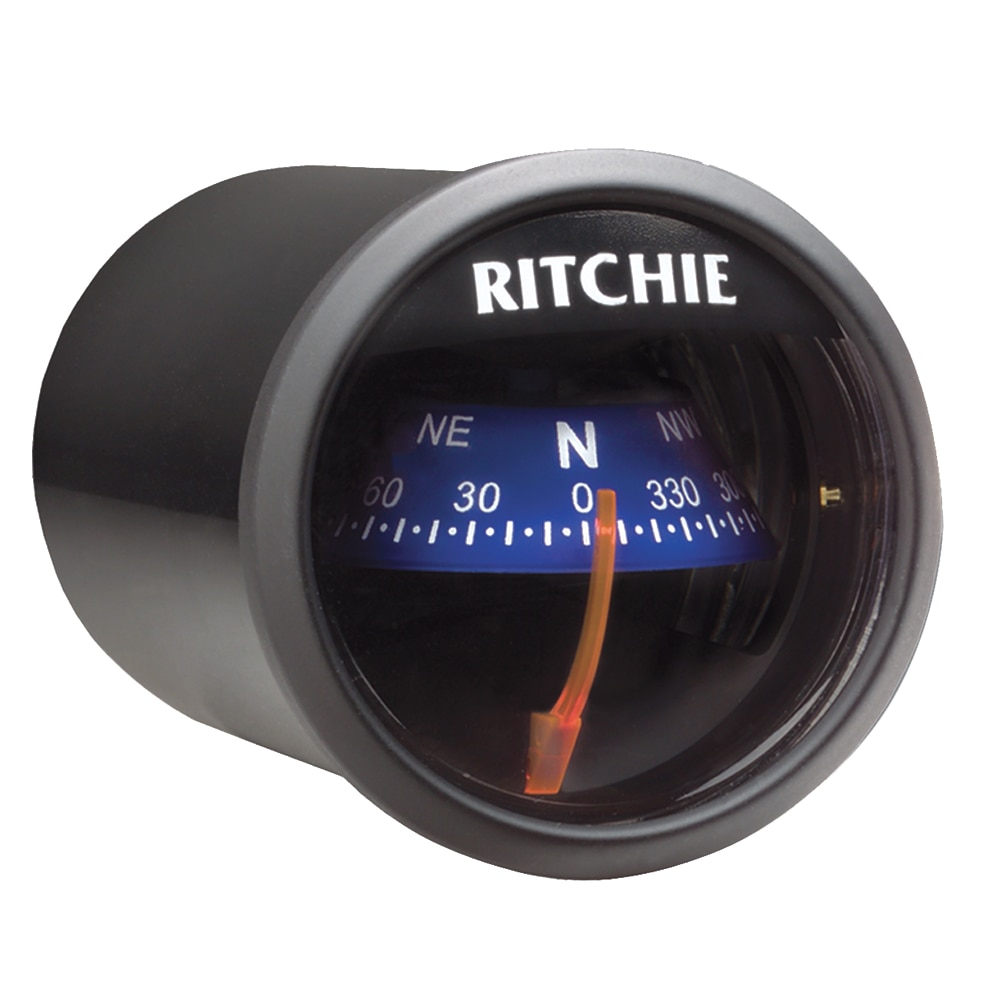 Ritchie X-21BU Compass - Dash Mount - Black/Blue - X-21BU