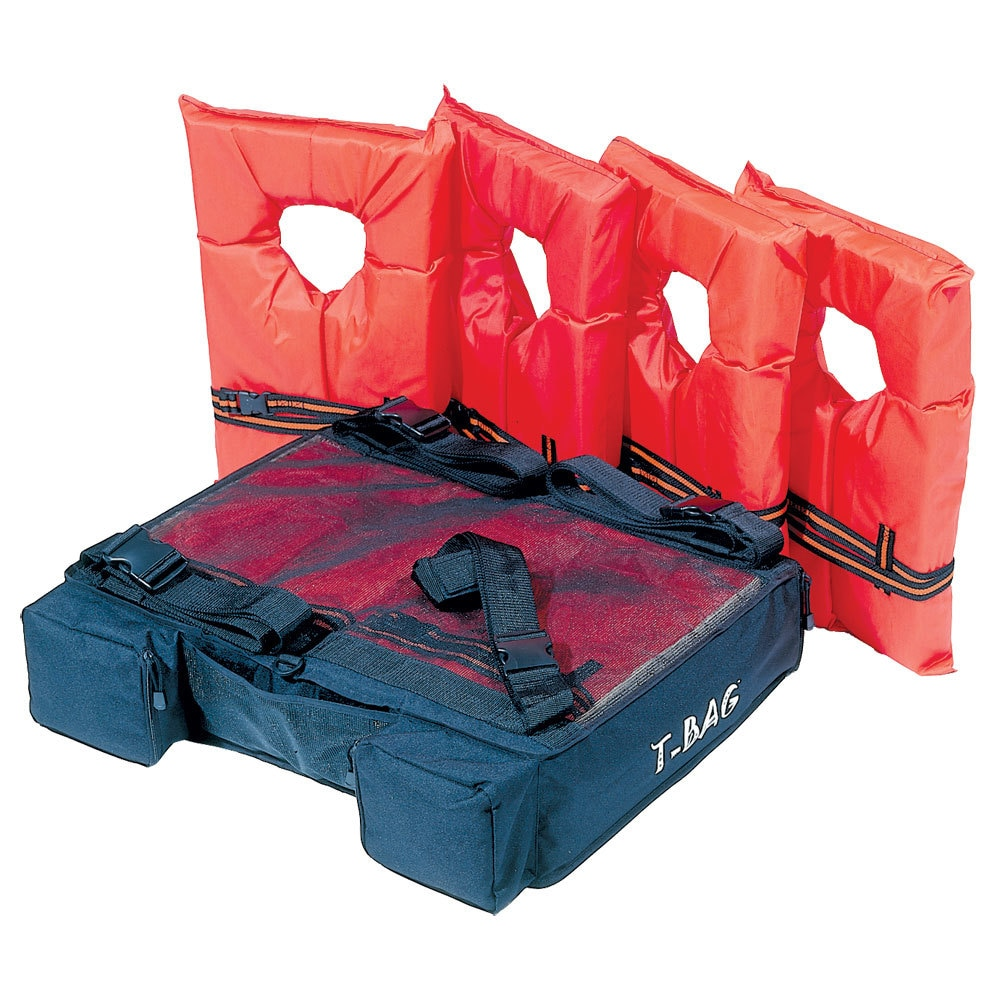 Kwik Tek T-Top Bimini Storage Pack - PFDT-4