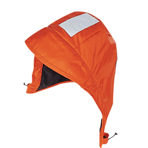 Mustang Classic Insulated Foul Weather Hood - Universal - Orange - MA7136-U-OR