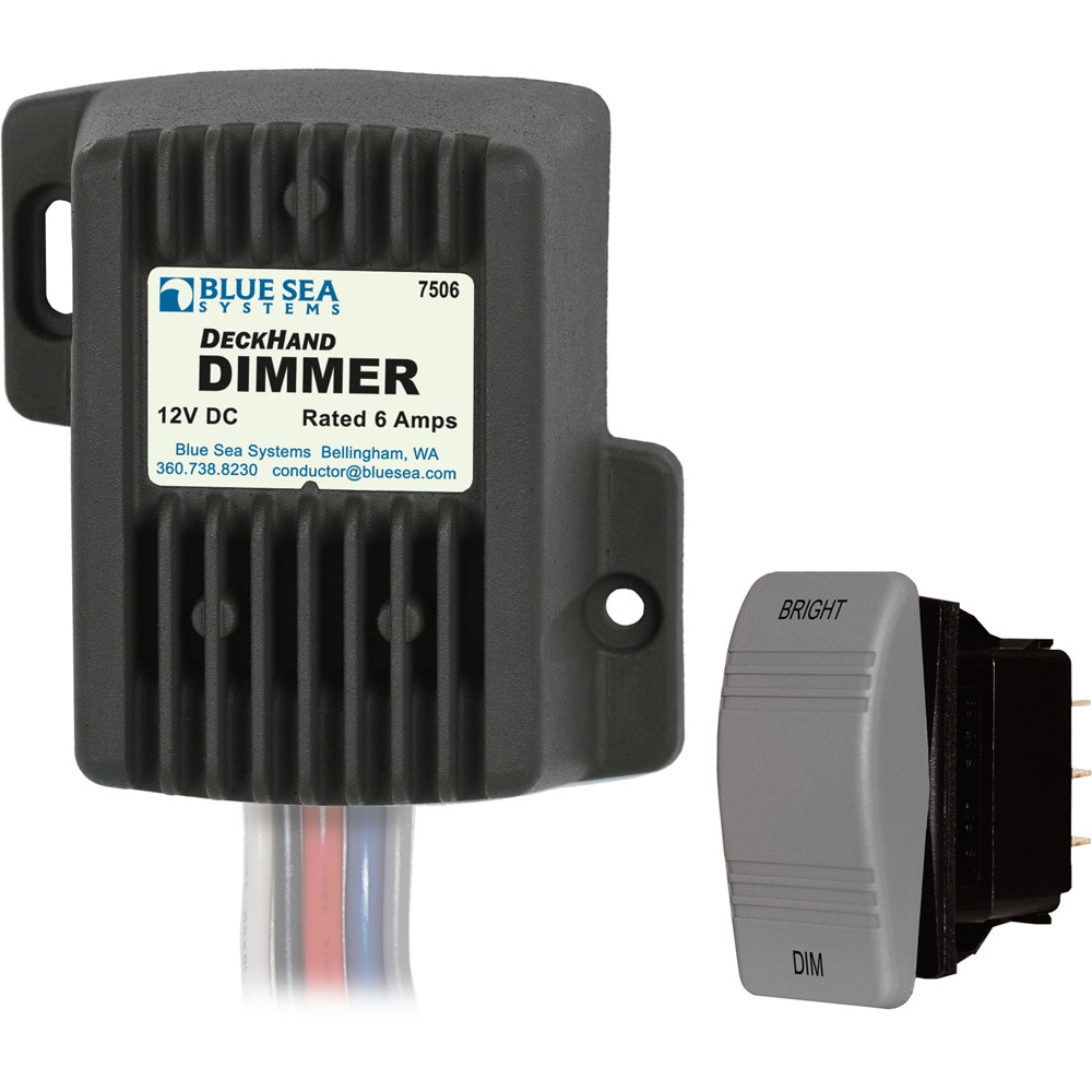 Blue Sea 7506 Deckhand Dimmer 6 Amp - 7506