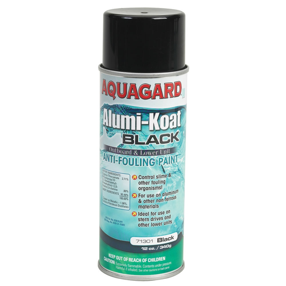 Aquagard Alumi-Koat Spray - 12oz - Black - 71301