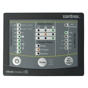 Xantrex TRUECHARGE2 Remote Panel f/20 & 40 Amp Chargers (2012 TC2 60a ONLY) - 808-8040-01