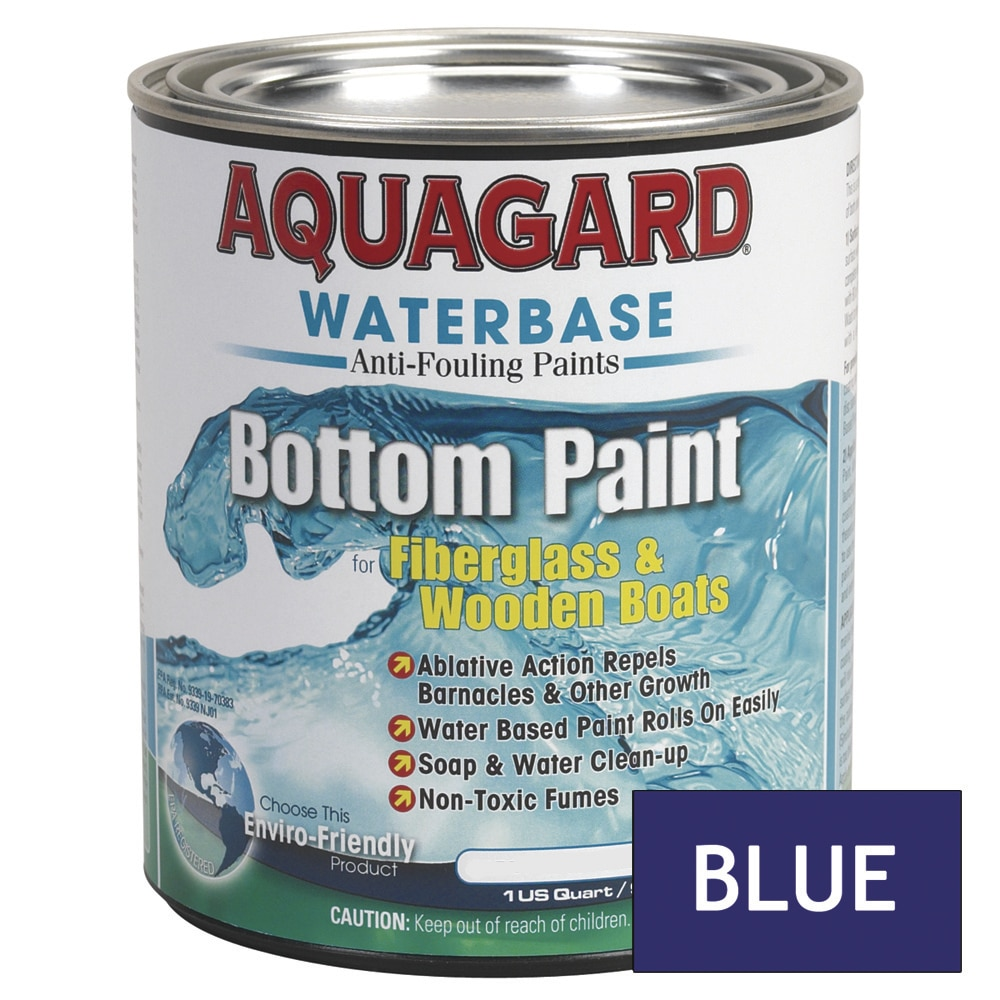 Aquagard Waterbased Anti-Fouling Bottom Paint - Quart - Blue - 10003