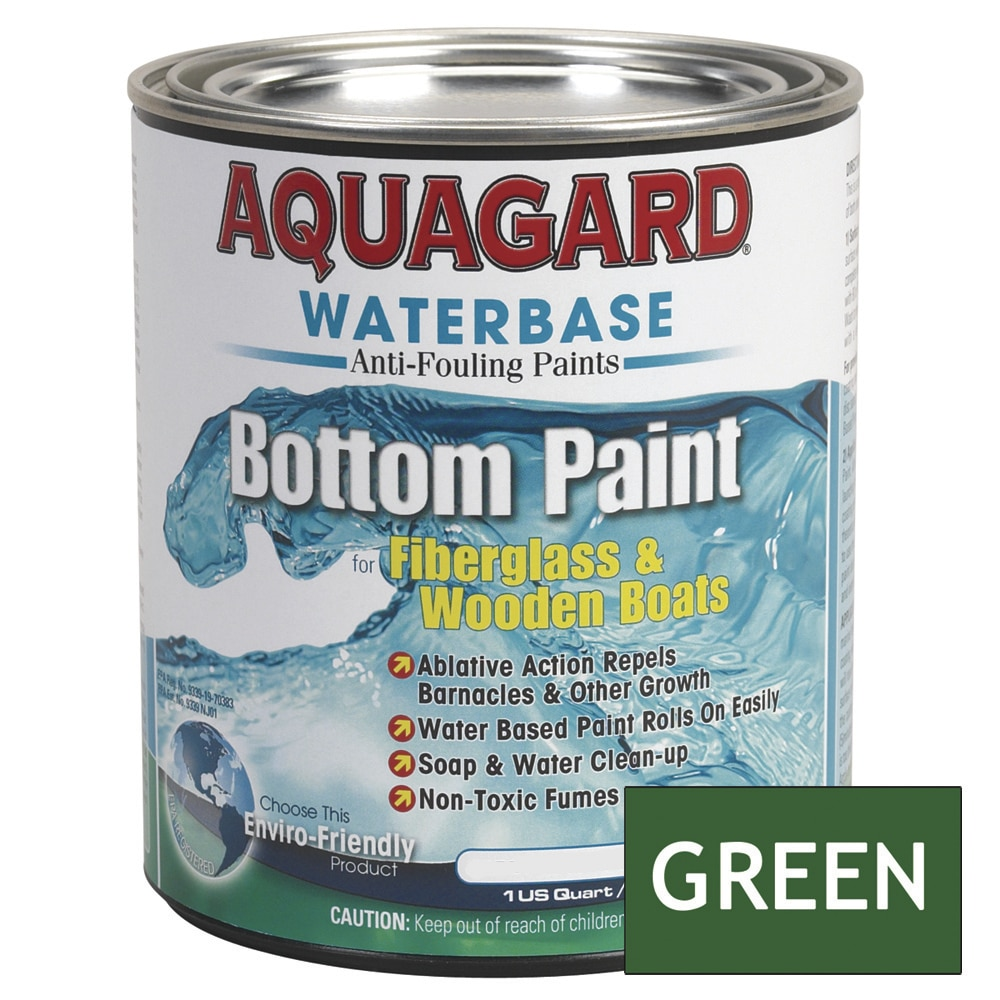 Aquagard Waterbased Anti-Fouling Bottom Paint - Quart - Green - 10004