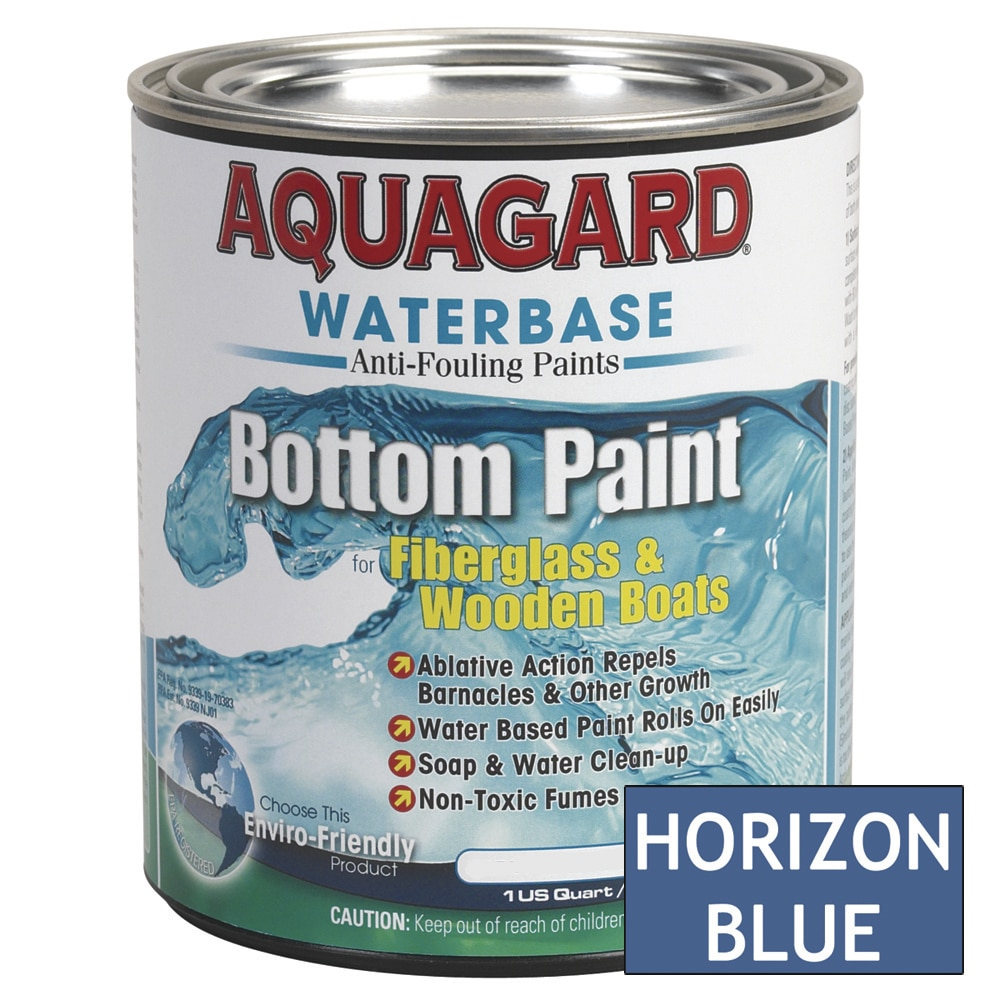 Aquagard Waterbased Anti-Fouling Bottom Paint - Quart - Horizon Blue - 10006
