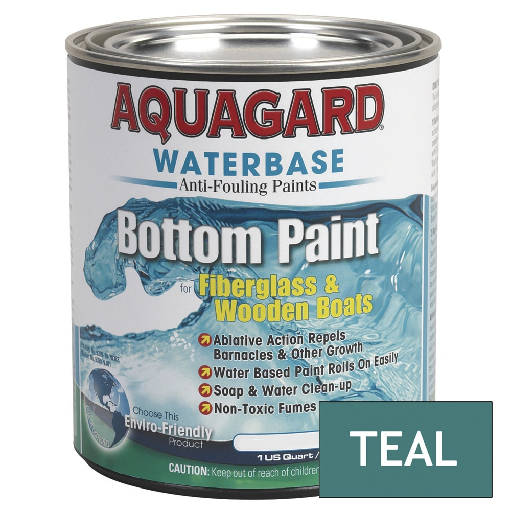 Aquagard Waterbased Anti-Fouling Bottom Paint - Quart - Teal - 10005