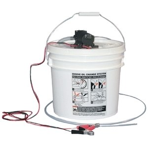 Jabsco DIY Oil Change System w/Pump & 3.5 Gallon Bucket - 17850-1012