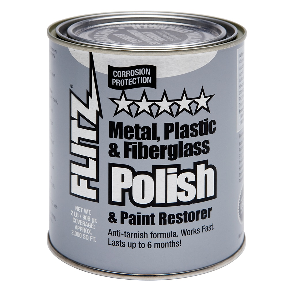 Flitz Polish - Paste - 2.0 lb. Quart Can - CA 03518-6