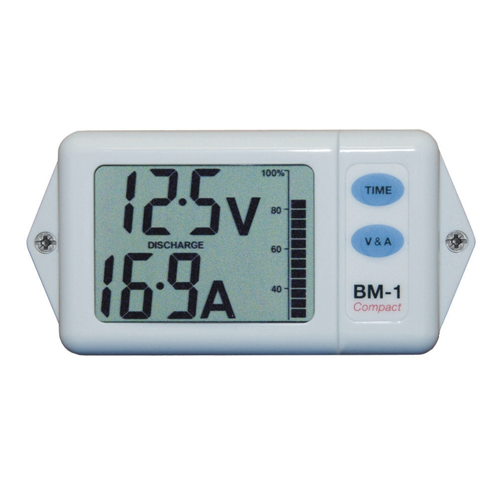 Clipper BM-1CW Battery Monitor Compact White - BM-1CW