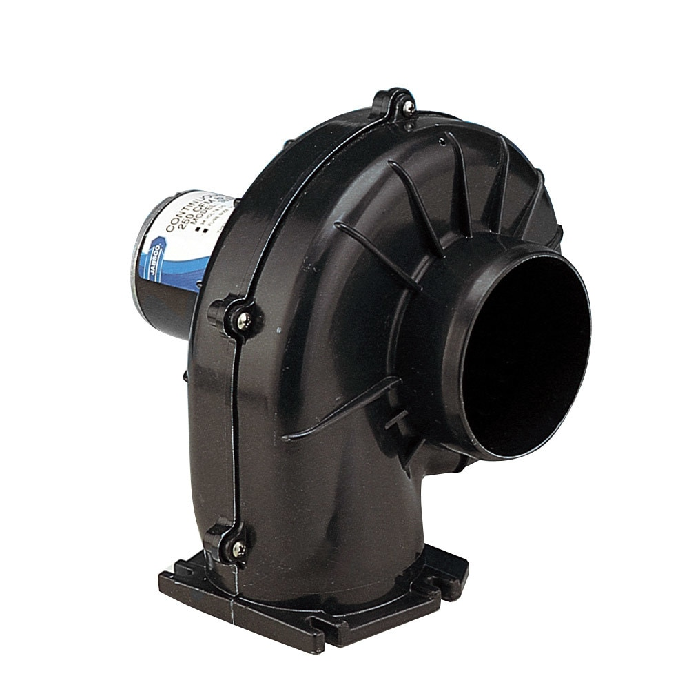 Jabsco 4' 250 CFM Flangemount Heavy Duty Blower - 12v - 35760-0092