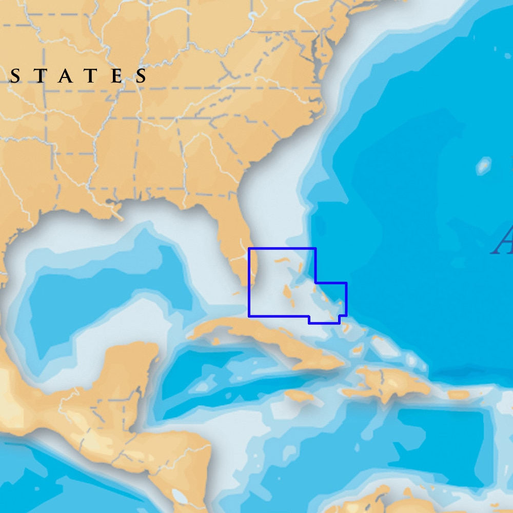 Navionics Platinum Plus North Bahamas on SD/Micro SD - MSD/699P+