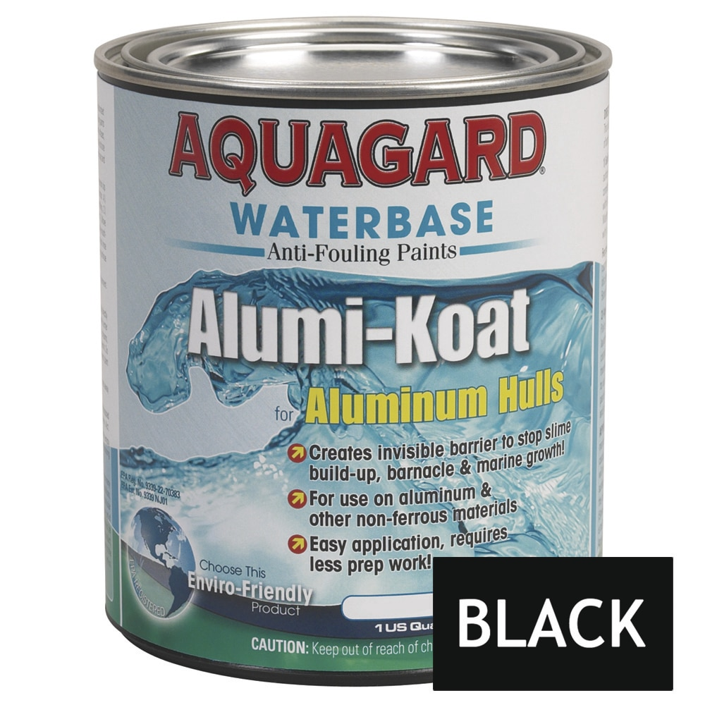Aquagard II Alumi-Koat Anti-Fouling Waterbased - Quart - Black - 70001
