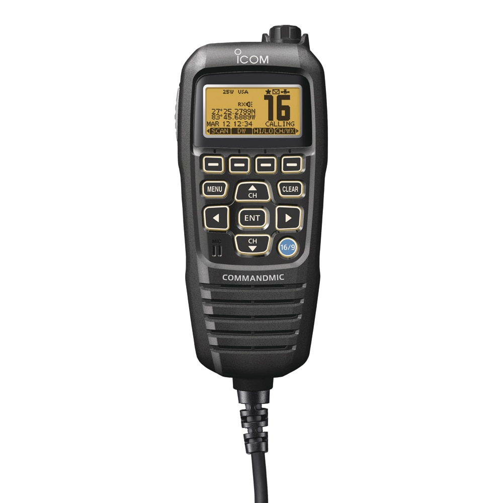 Icom CommandMic IV Black - HM195B