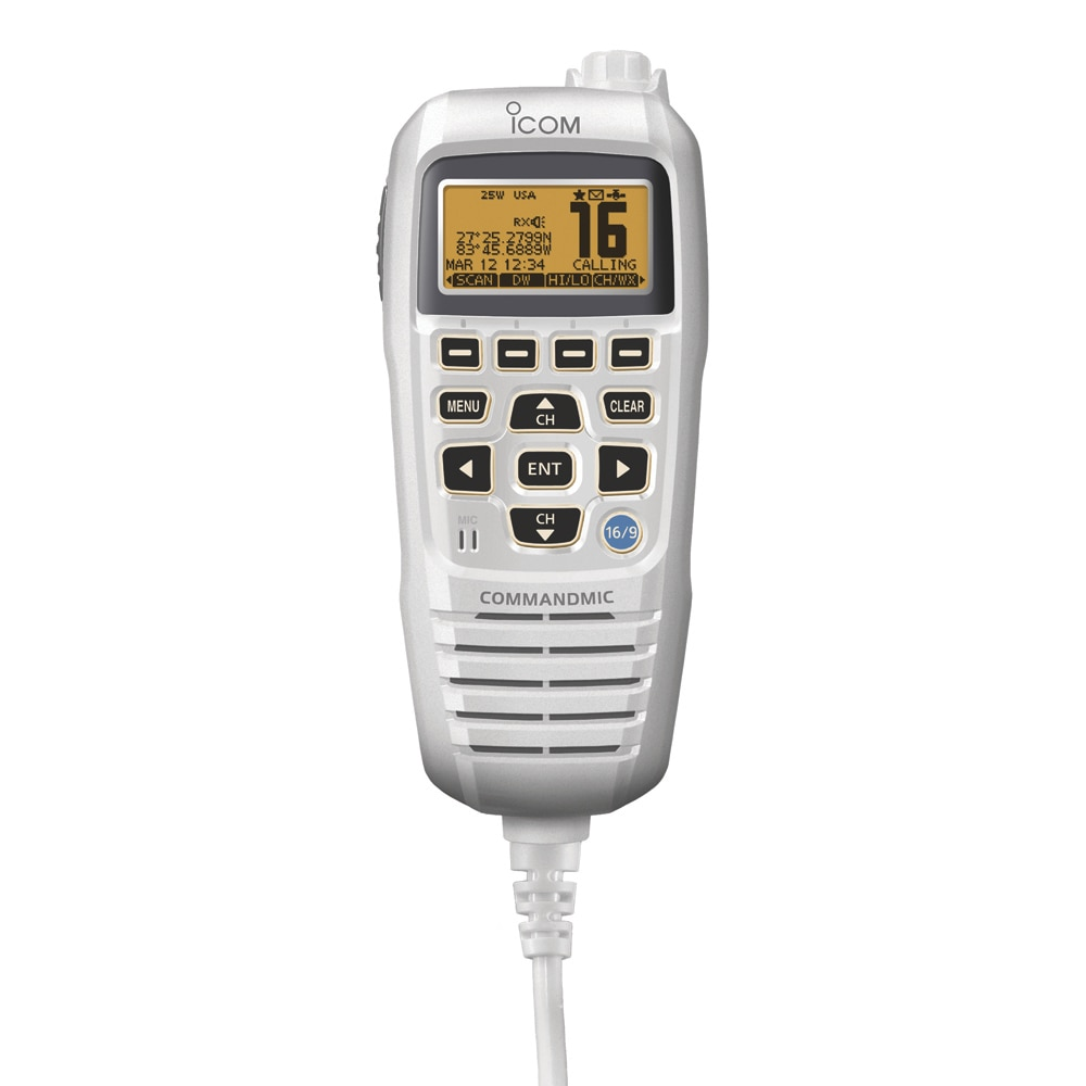 Icom CommandMic IV White - HM195SW
