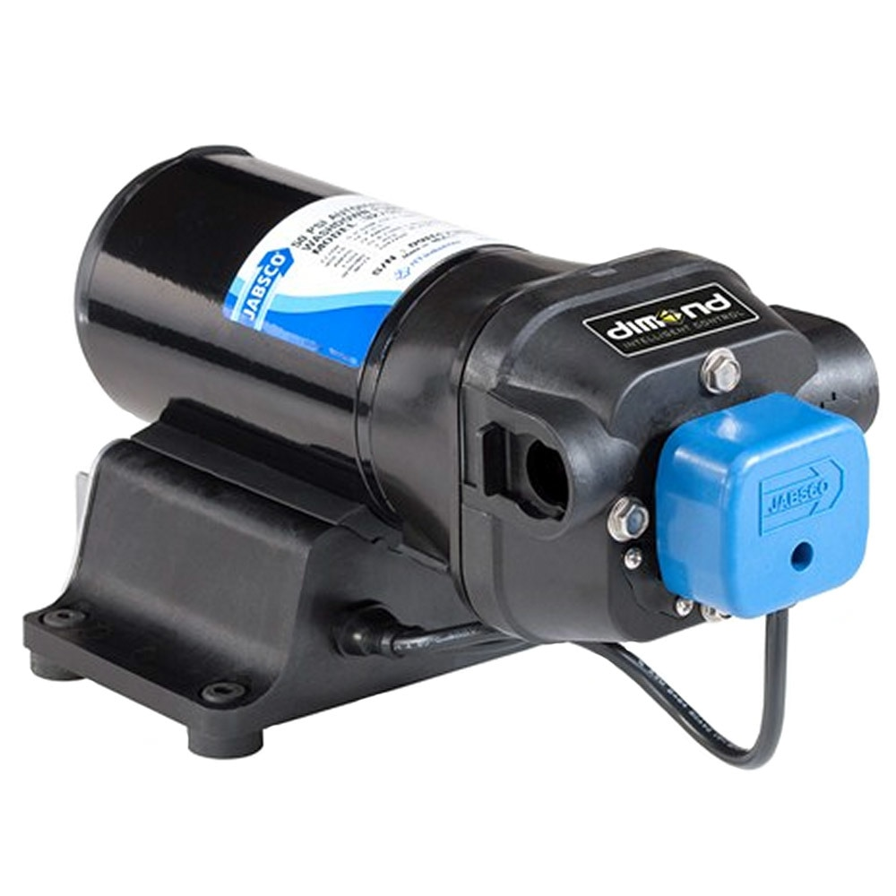Jabsco V-FLO Water Pressure Pump with Strainer - 5GPM - 12VDC 60PSI - 42755-0092