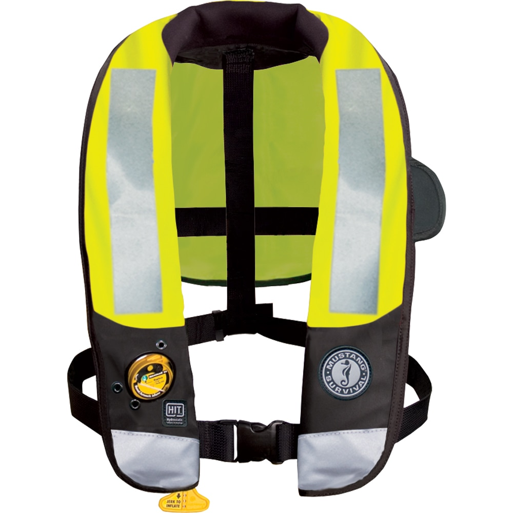 Mustang MD3183 T3 High Visibility Inflatable PFD with Hydrostatic Inflator Technology (HIT)