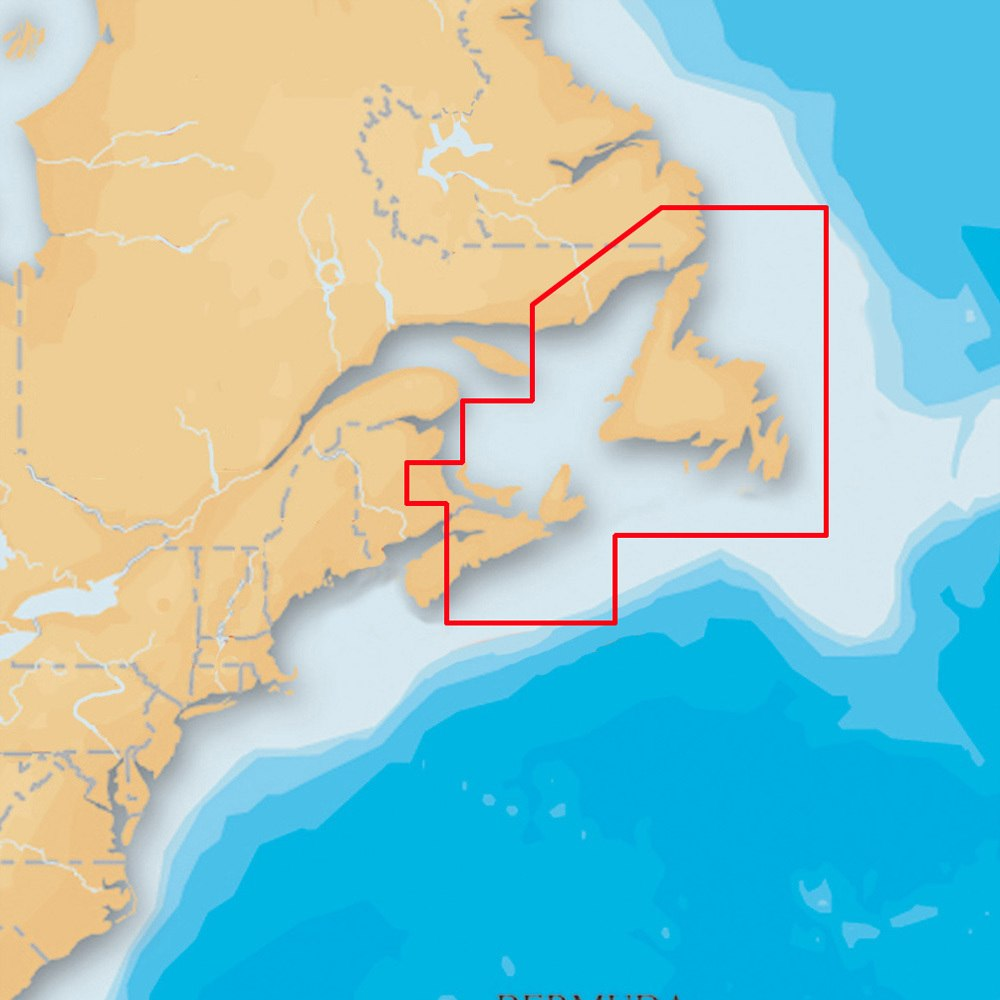 Navionics Platinum Plus Nova Scotia and Newfoundland on SD/Micro SD - MSD/903P-2