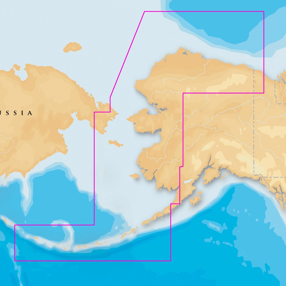 Navionics Platinum Plus NW Alaska and Aleutians on SD/Micro SD - MSD/916P-2