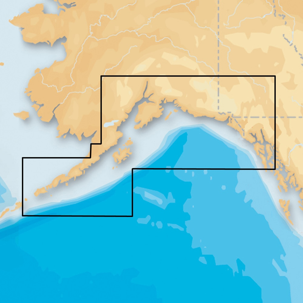 Navionics Platinum Plus South Alaska on SD/Micro SD - MSD/915P-2