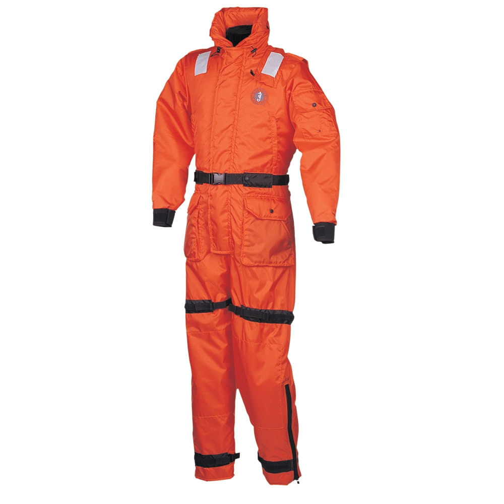 Mustang Deluxe Anti-Exposure Coverall & Worksuit - SM - MS2175-S-OR