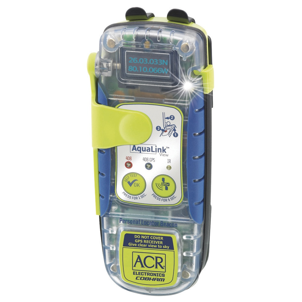 ACR AquaLink VIEW PLB - PLB-350C - Personal Locator Beacon - 2884