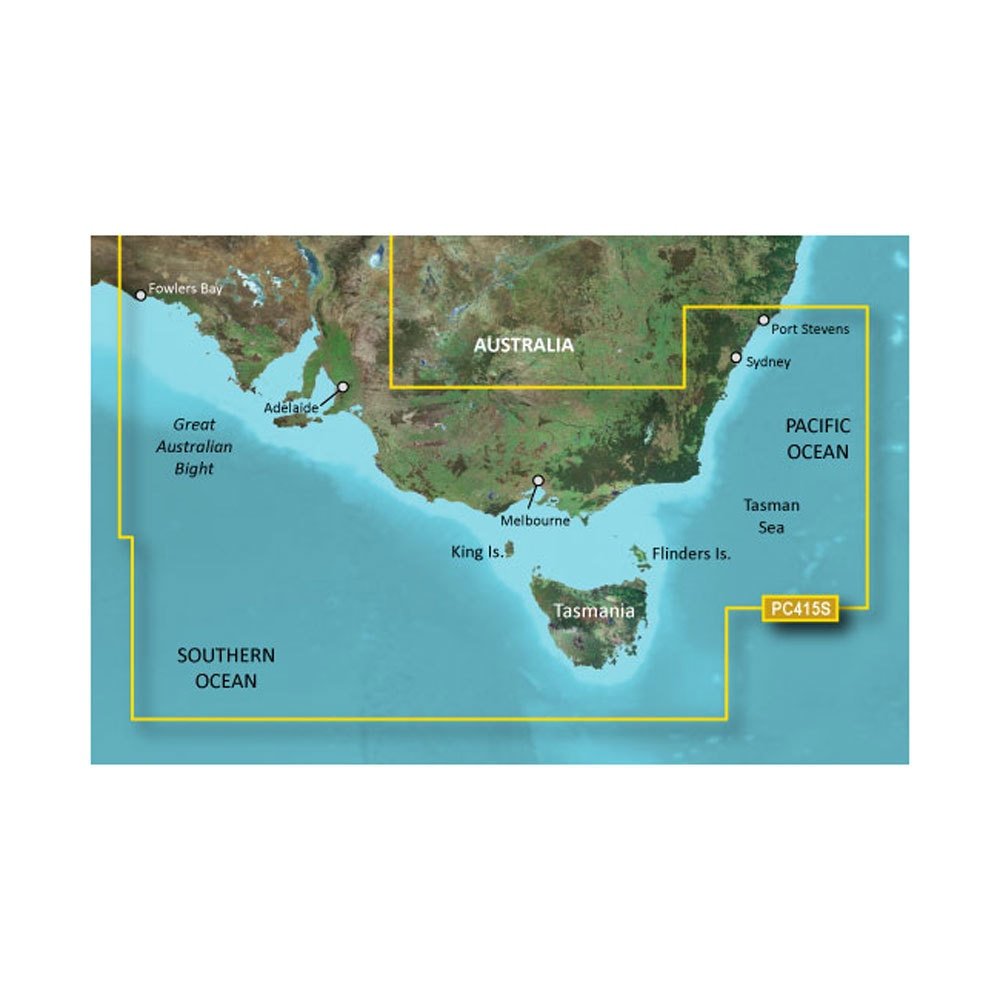 Garmin Bluechart G2 - HXPC415S - Port Stephens - Fowlers Bay - MicroSD & SD - 010-C0873-20
