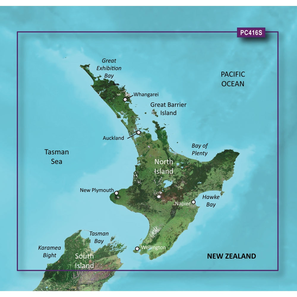 Garmin Bluechart G2 - HXPC416S - New Zealand North - MicroSD & SD - 010-C0874-20