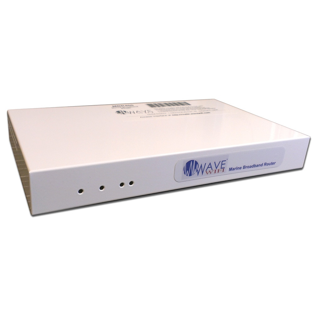 Wave WiFi Marine Broadband Router - 4 Source - MBR400