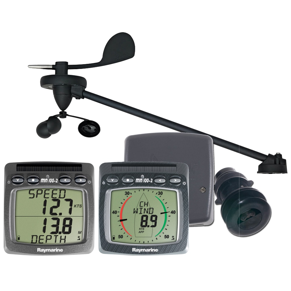 Raymarine T108-916 Wireless Wind, Speed & Depth System with Triducer