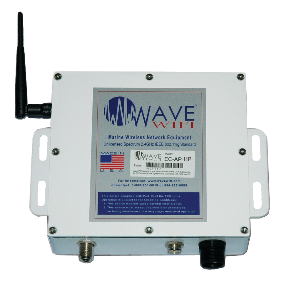 Wave WiFi EC-AP-HP High Performance WiFi Access System w/Access Point - EC-AP-HP