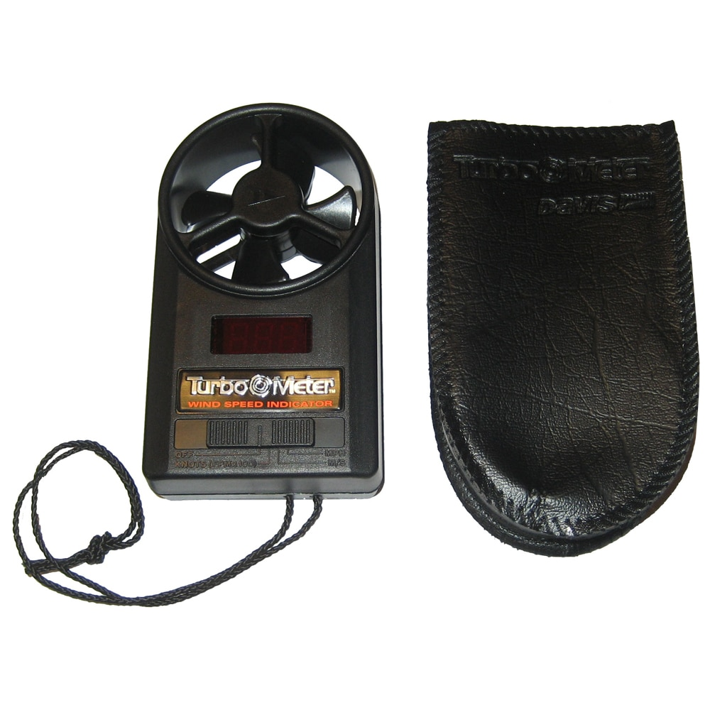 Davis Turbo Meter Electronic Wind Speed Indicator - 271
