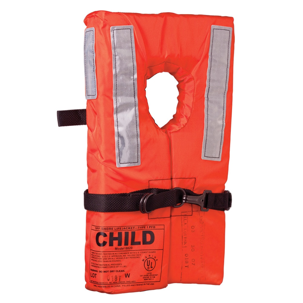 Kent Type I Collar Style Life Jacket - Child - 100100-200-002-12