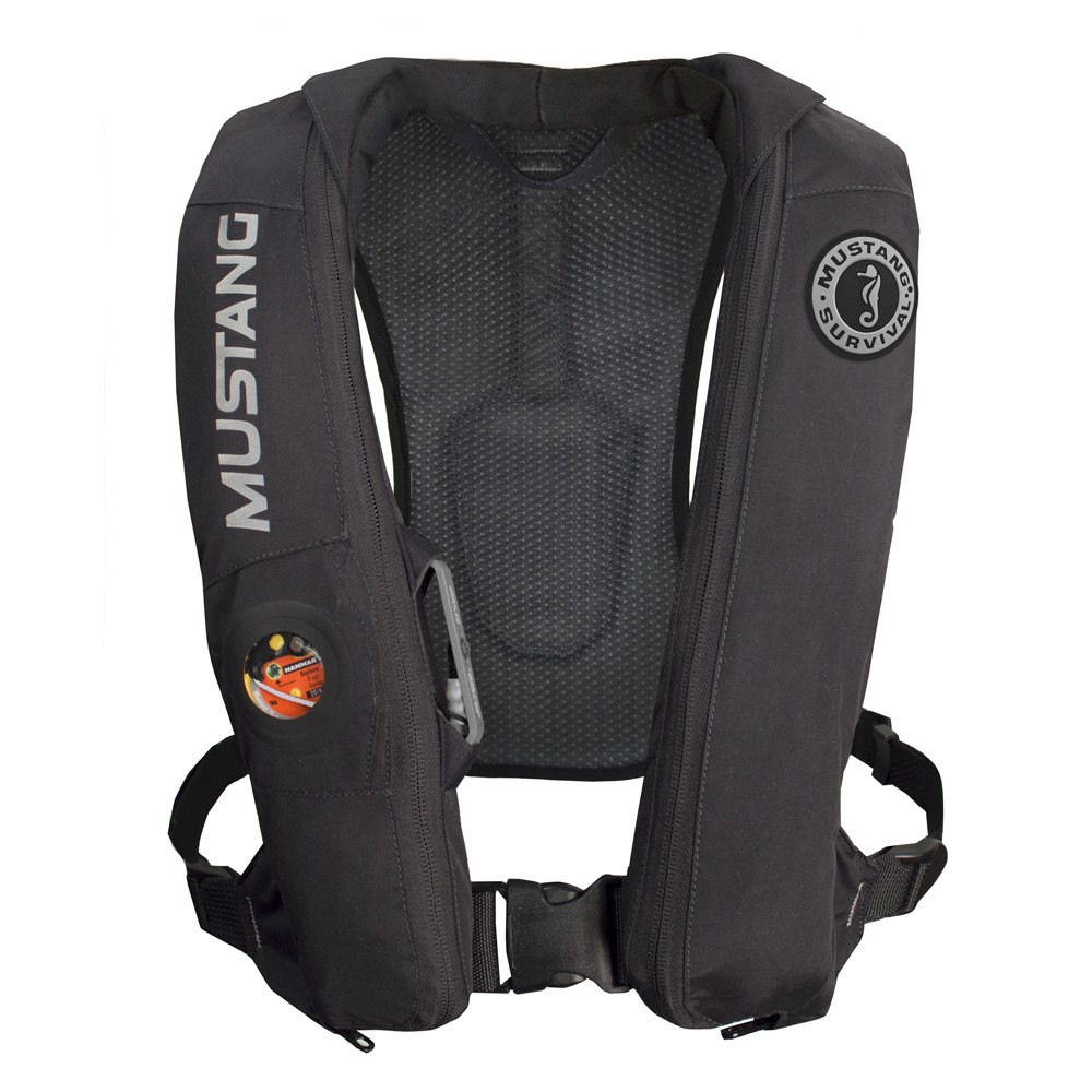Mustang Elite Inflatable Automatic PFD - Black - MD5183-BK