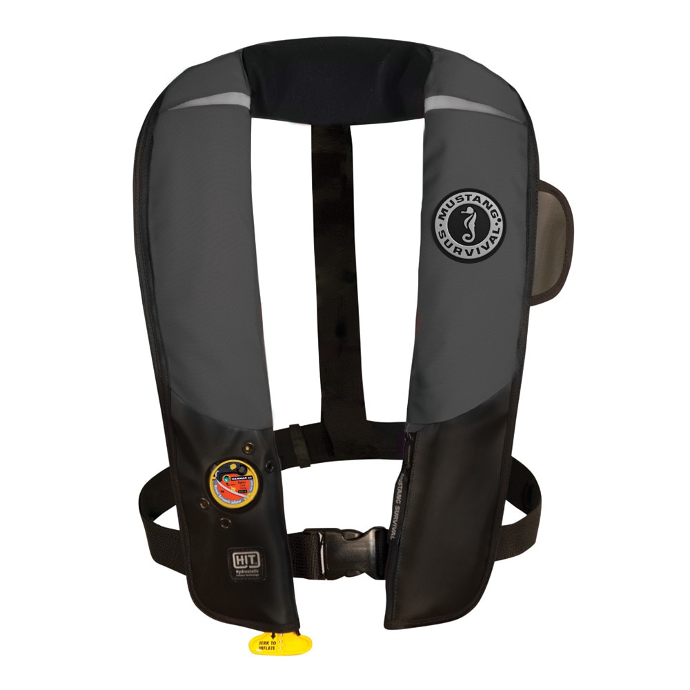 Mustang HIT Inflatable Automatic PFD - Gray/Black - MD3183/02-GR/BK